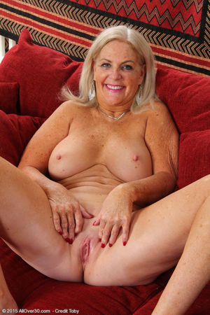 Porn pics of Blonde 58 year old Judy..
