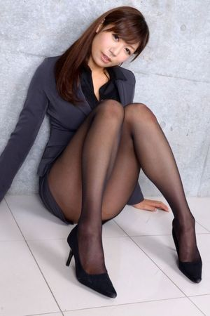Beauty leg collection black stockings..