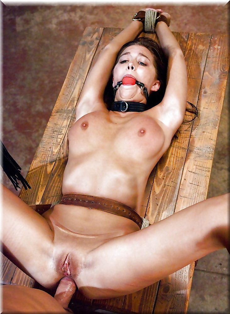 Tied Up Teen Gets Bbc Drill