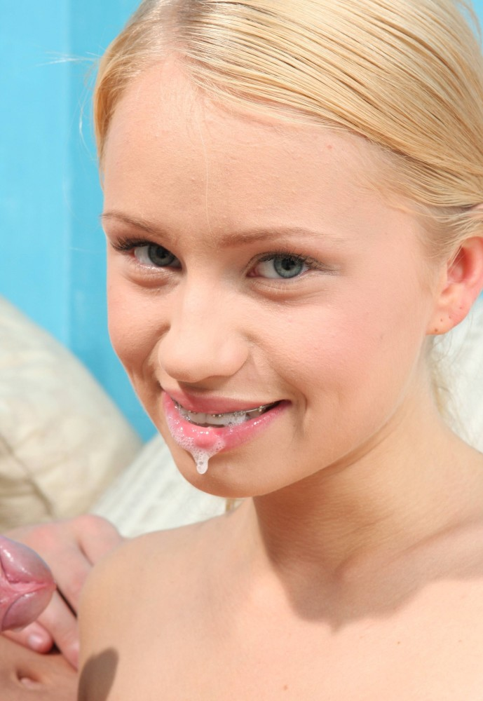 Teen Girls With Braces Facial