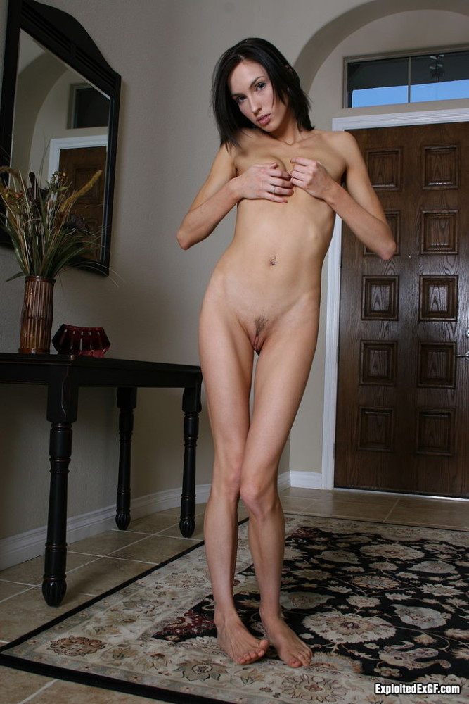 Skinny tall asian girl