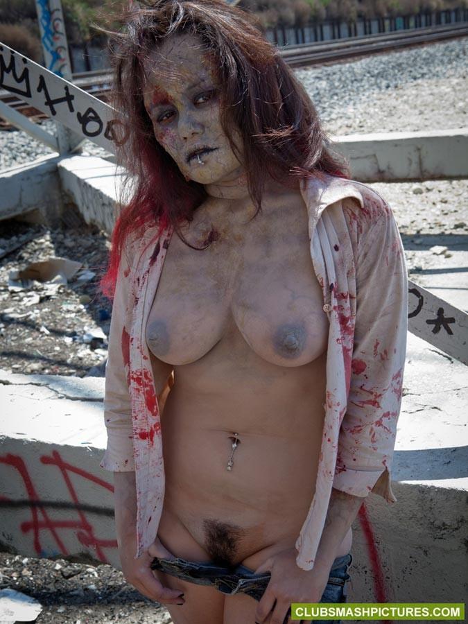 Naked zombie girls naked pussy