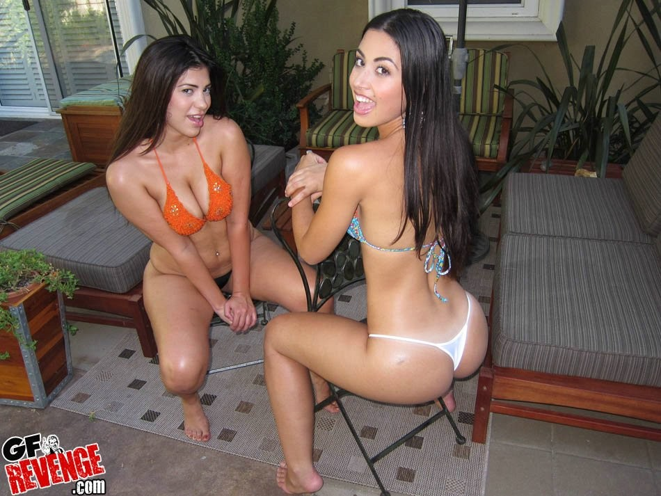 Young latina teen