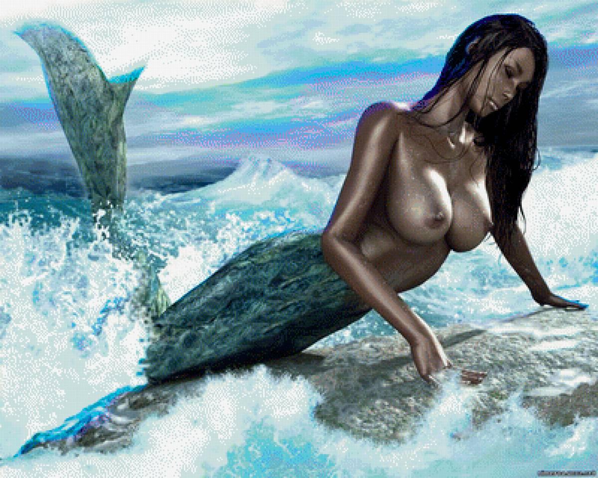 Topless Mermaid