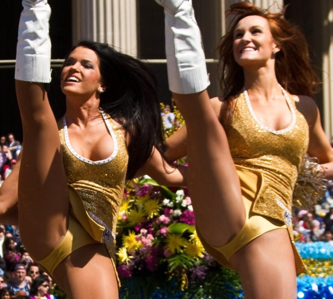 Girls dance in panties