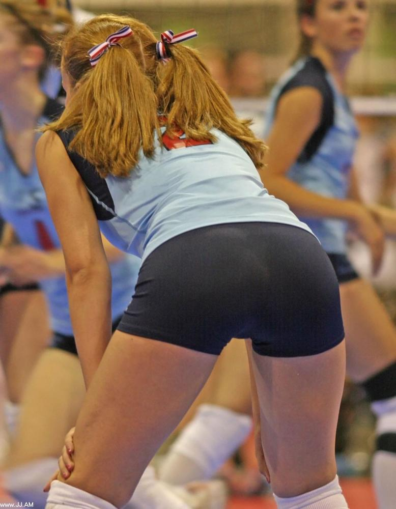 Teen volleyball spandex