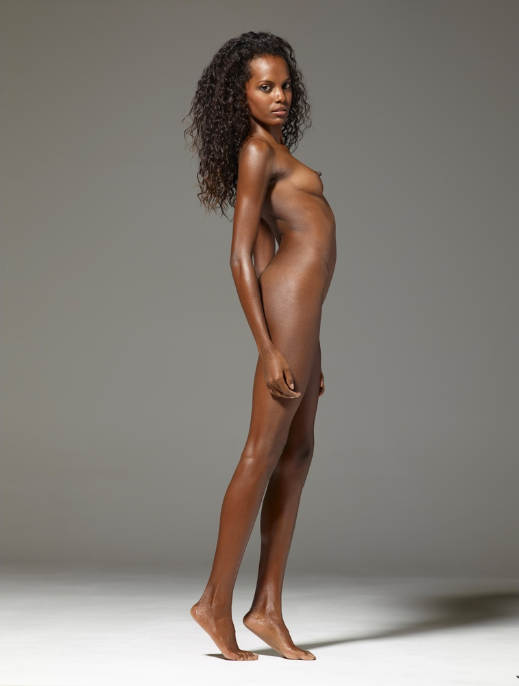 Black girls naked without face