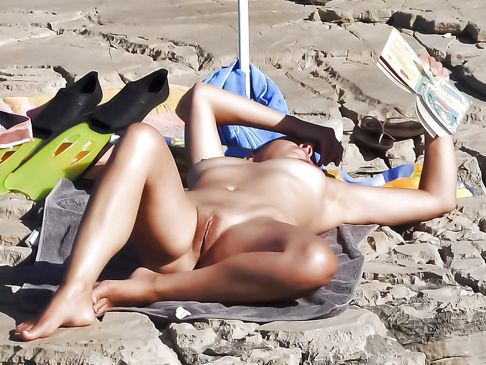 Nude beach spy wife