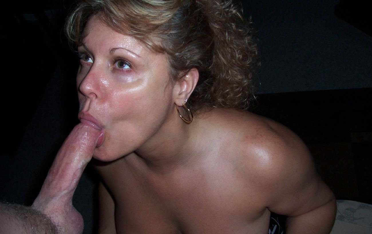 Amateur Private Mature Wife Sucking Cock