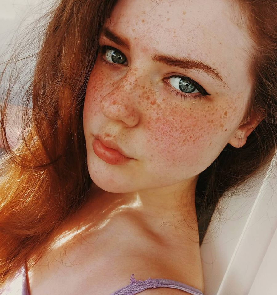 Naked Ginger With Freckles