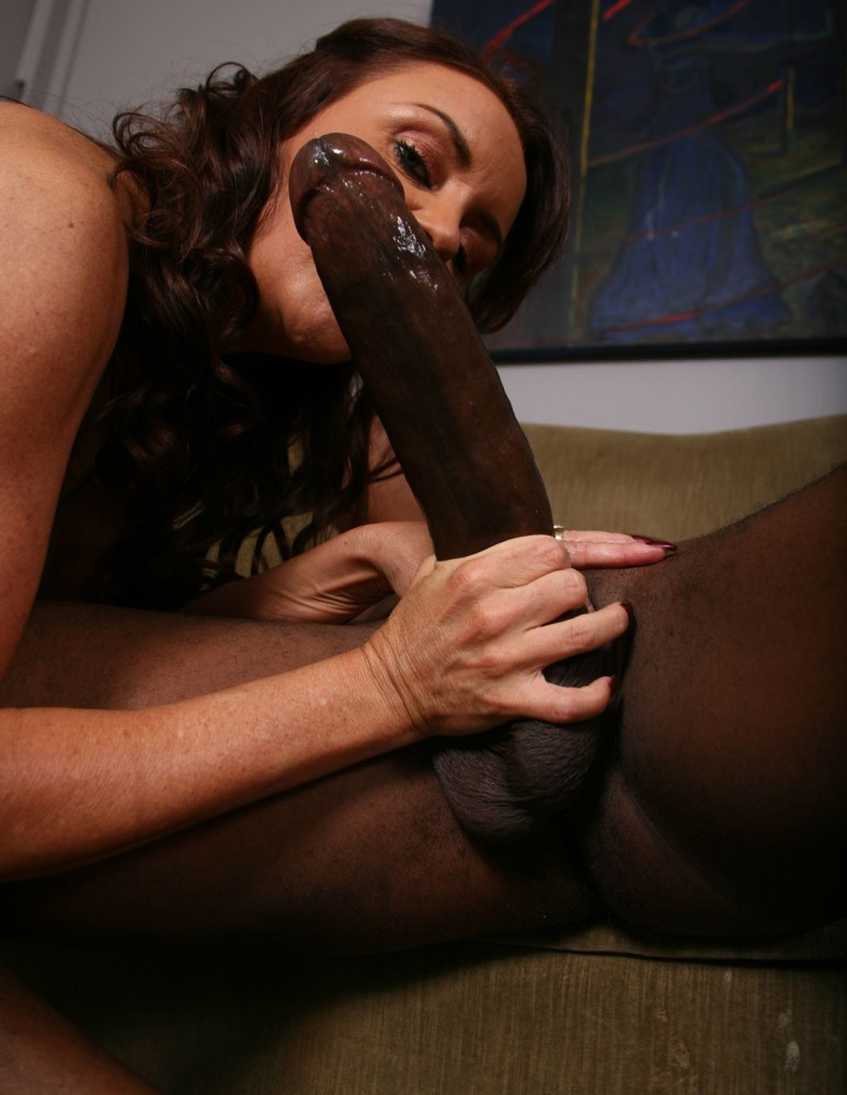 Young bride dreams of being fucked by a big black cock