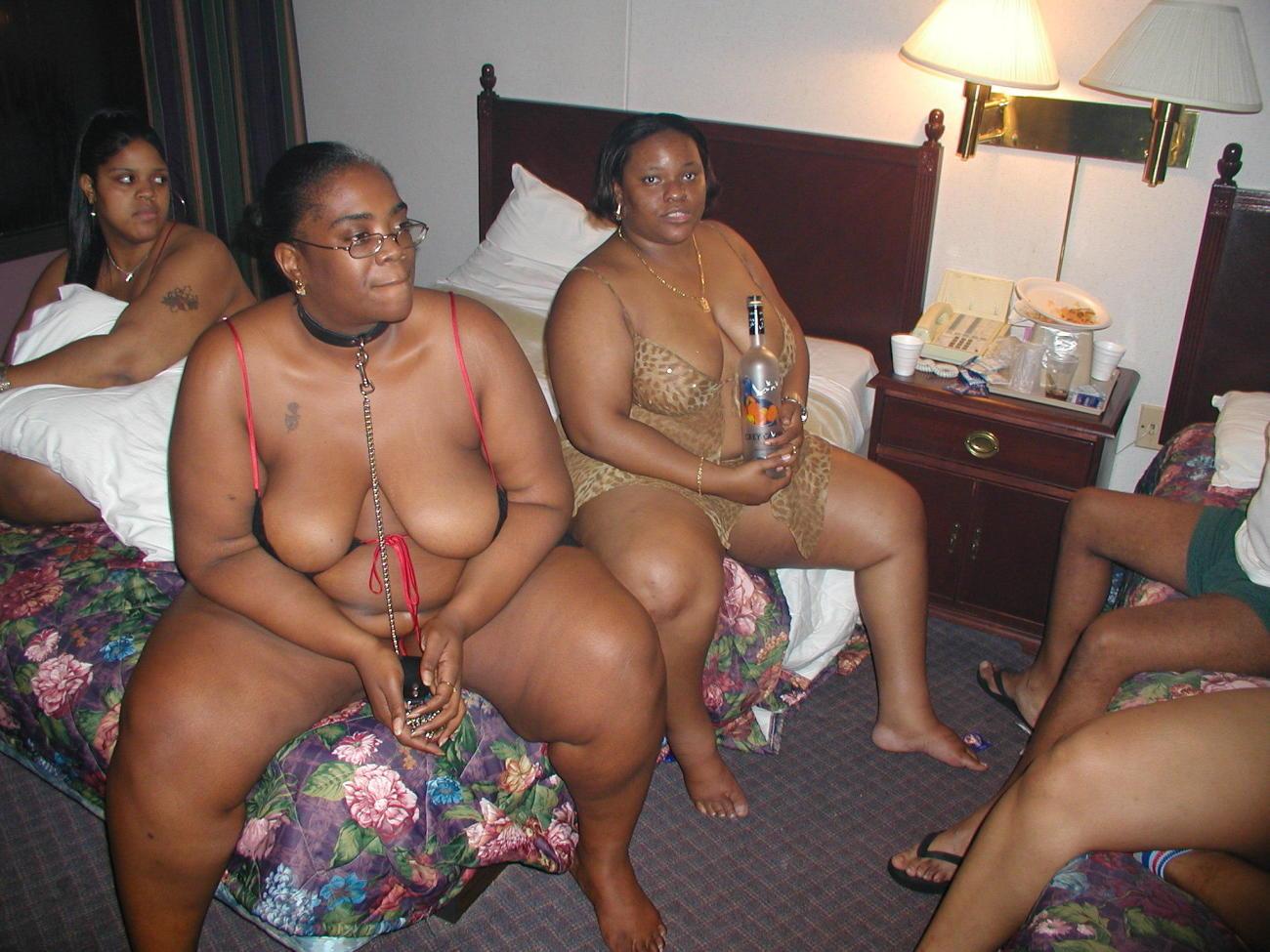 Ebony Lesbian Sex Party