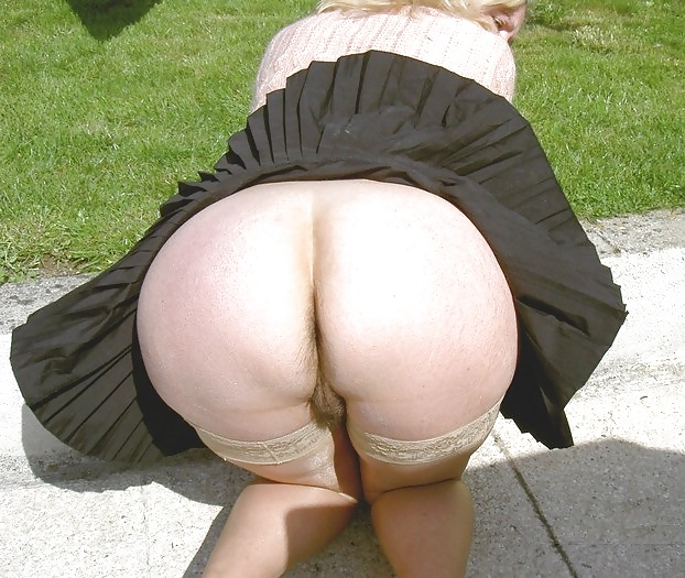 BBW Mature Big Butt - Sexy Dress - Chubby Plumper Ass - 40 P