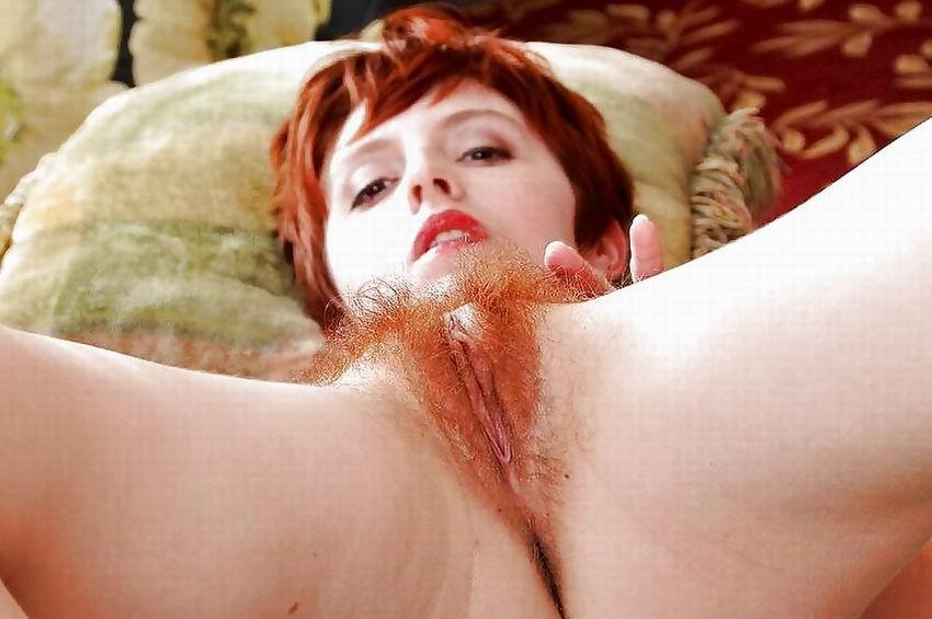 Irish Redhead Nude Hairy Pussy