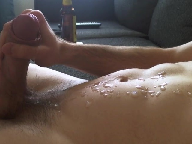 Close Up of Big Shooting a Massive Load of Cum ...