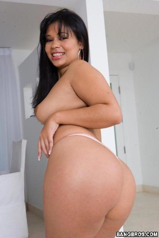 Latina Butt Naked