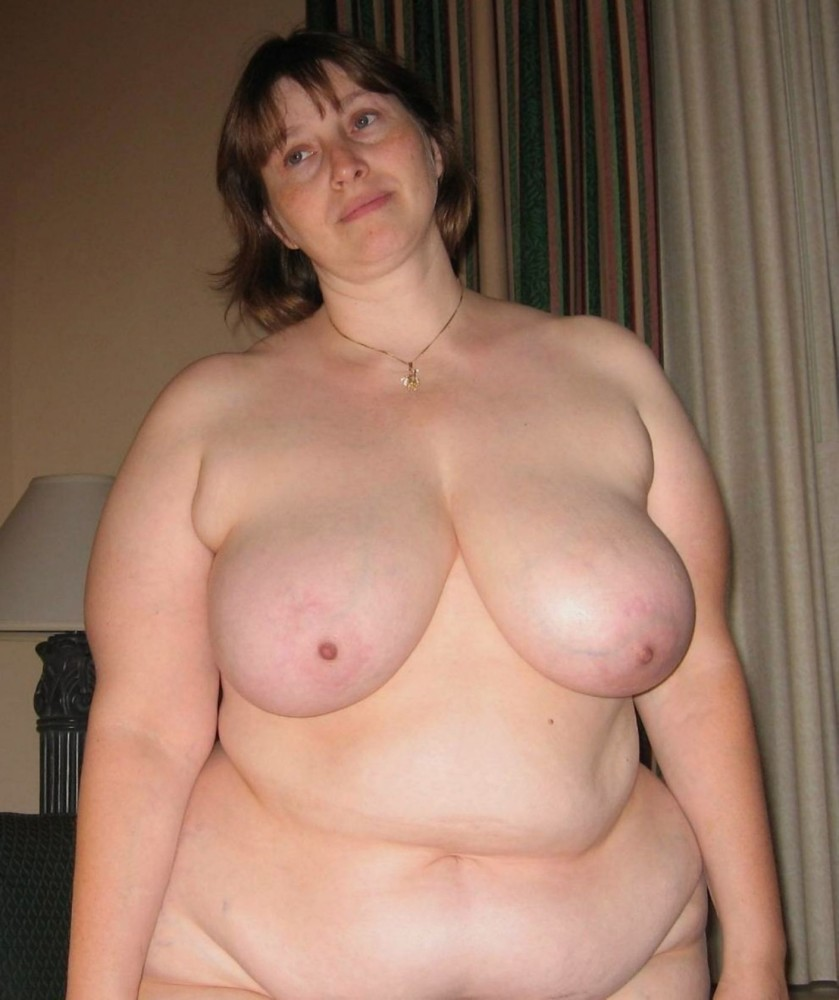 Bbw Mature Granny Saggy Tits