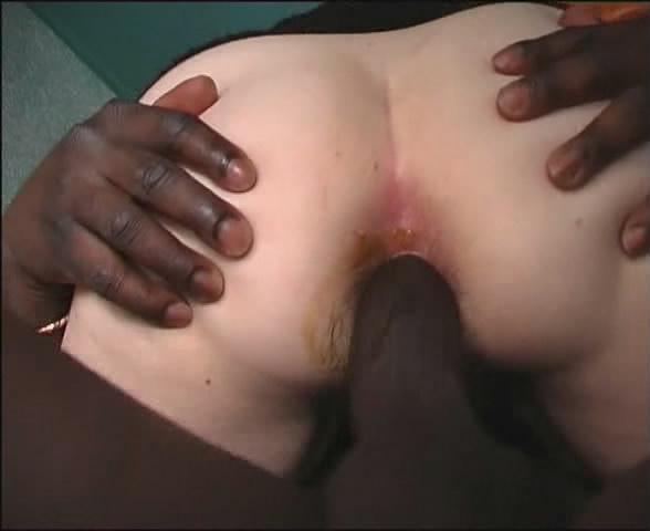 Cougar anal poop
