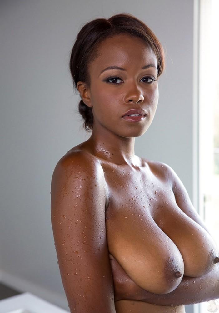 Black big tit photo