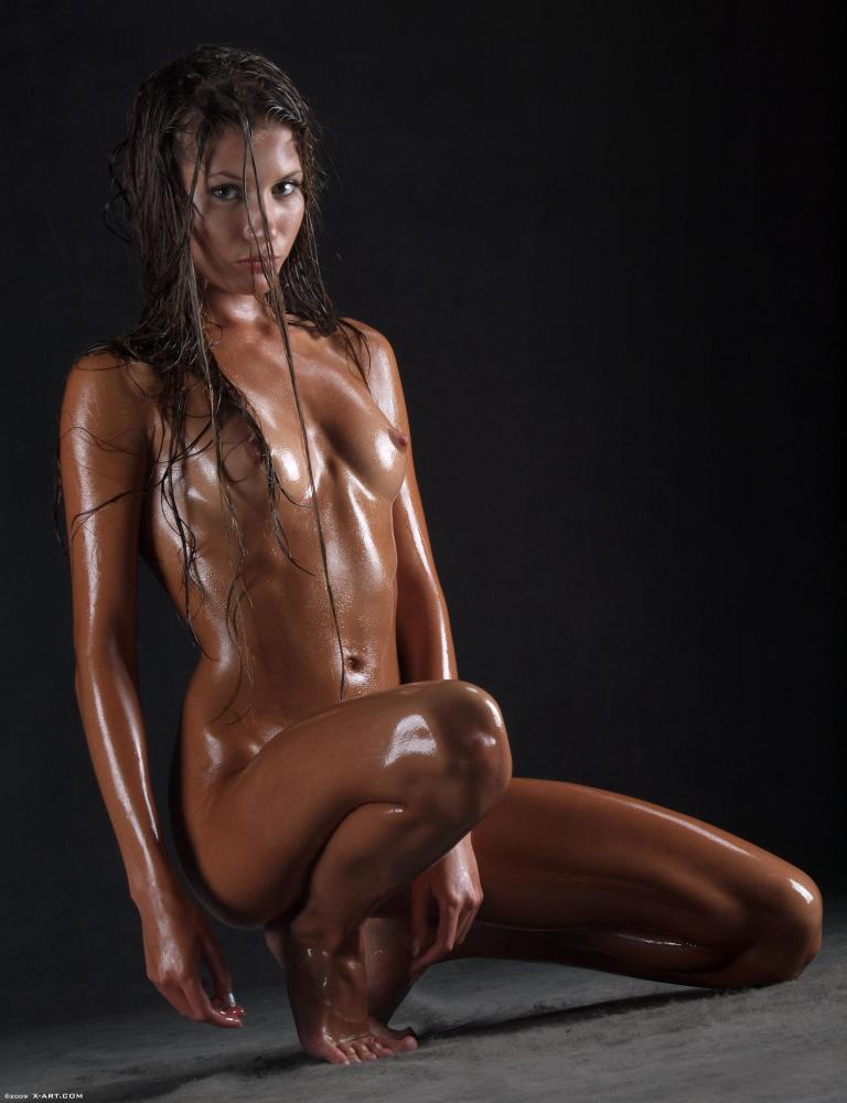 Lesbea Oiled Up Teen Bodies Ready For Love