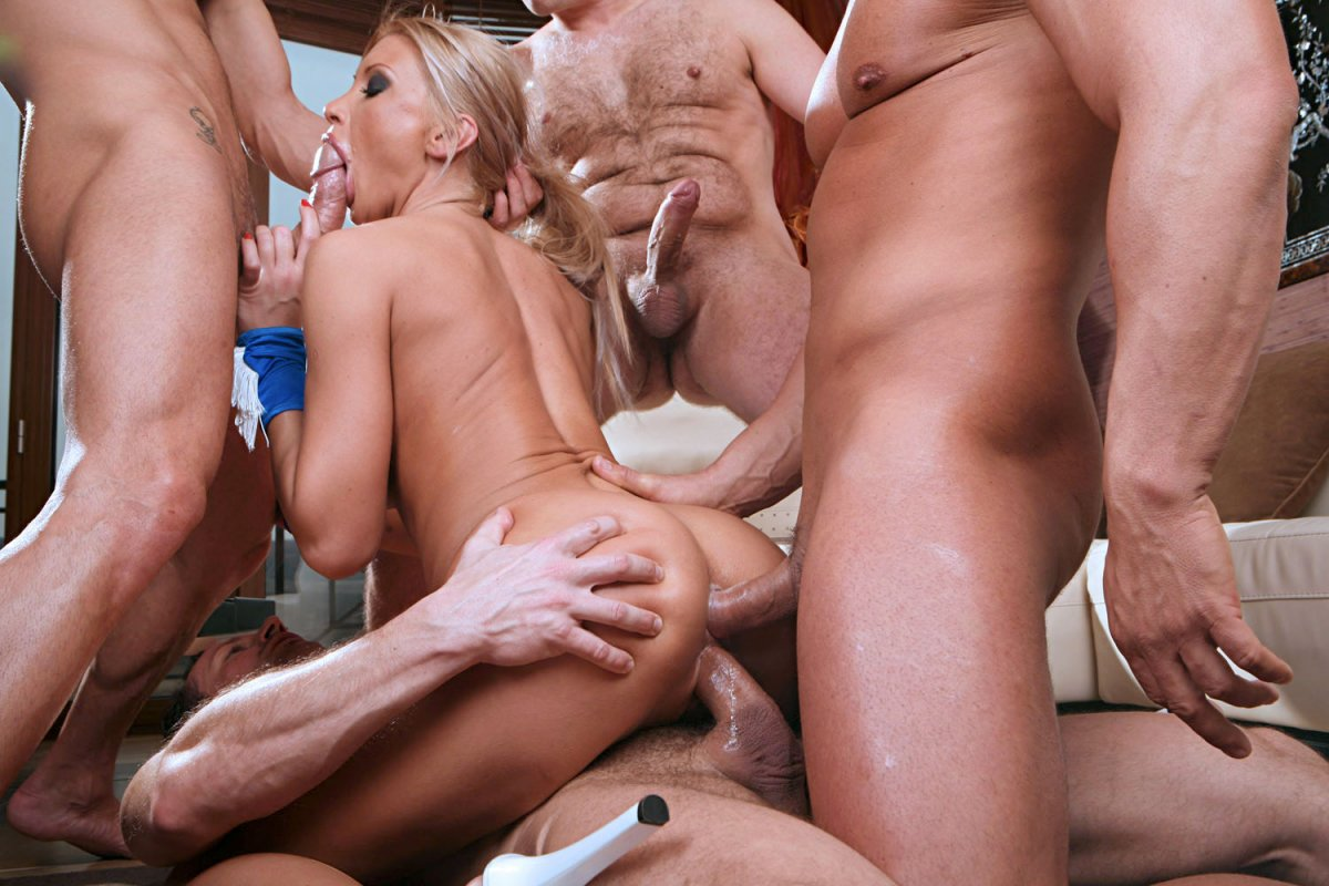 Sultry ciera sage in hot gangbang sex photo by all porn sites pass