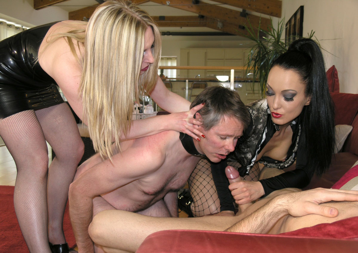 Suck cock forced mistress