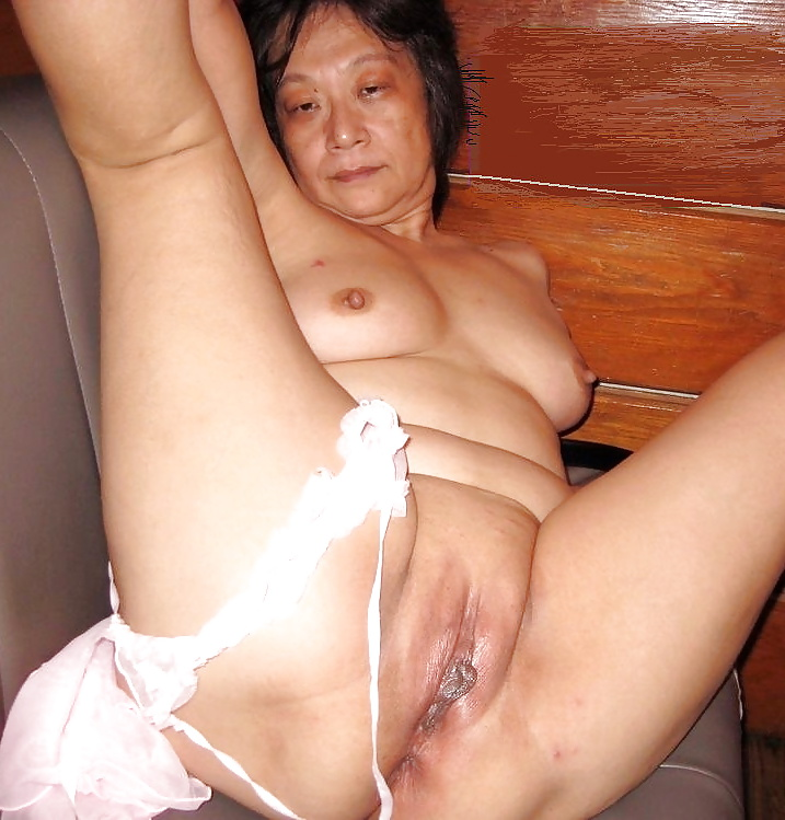 Old chinese granny naked