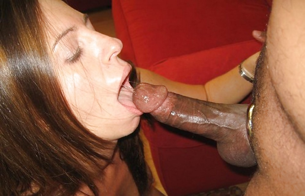 Mature slut sucks cum out of hubby's cock after being rough fucked doggystyle