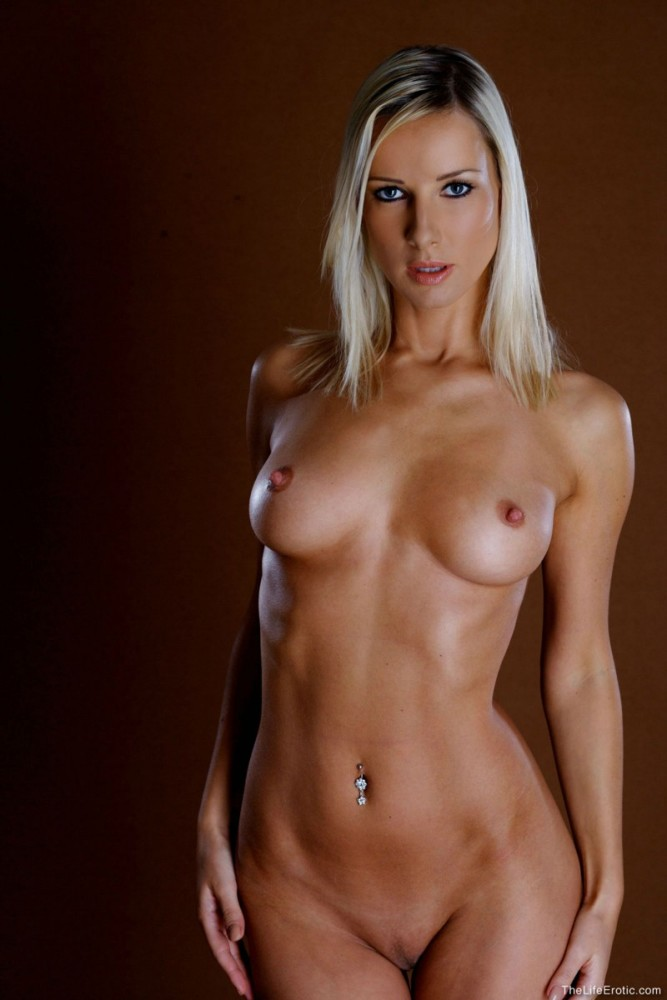 Naked beautiful female body