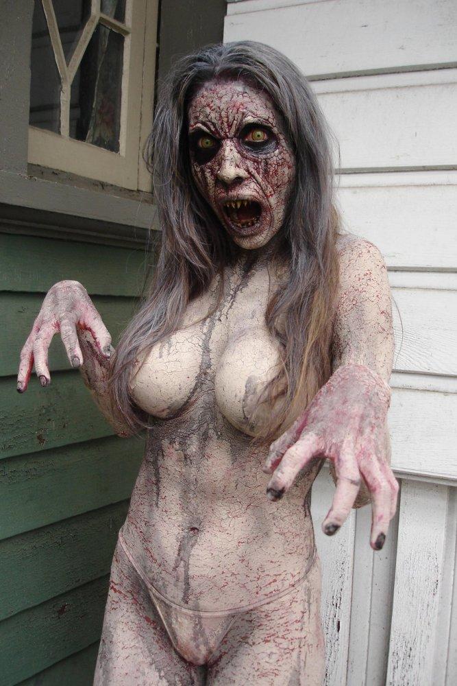 Zombie chicks nude
