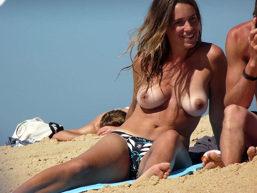 Voyeur coeds on beach #10