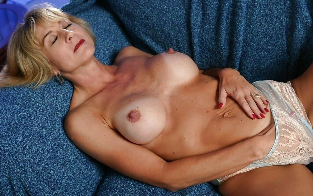 Beauty mature woman, spain