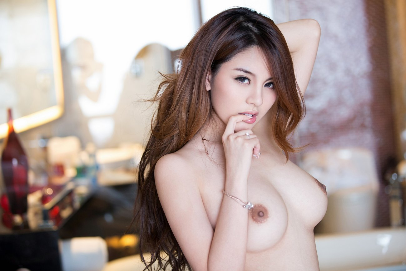 Asian beauty, sexy woman model stock photo