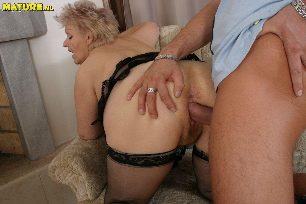 Granny anal best porn pics