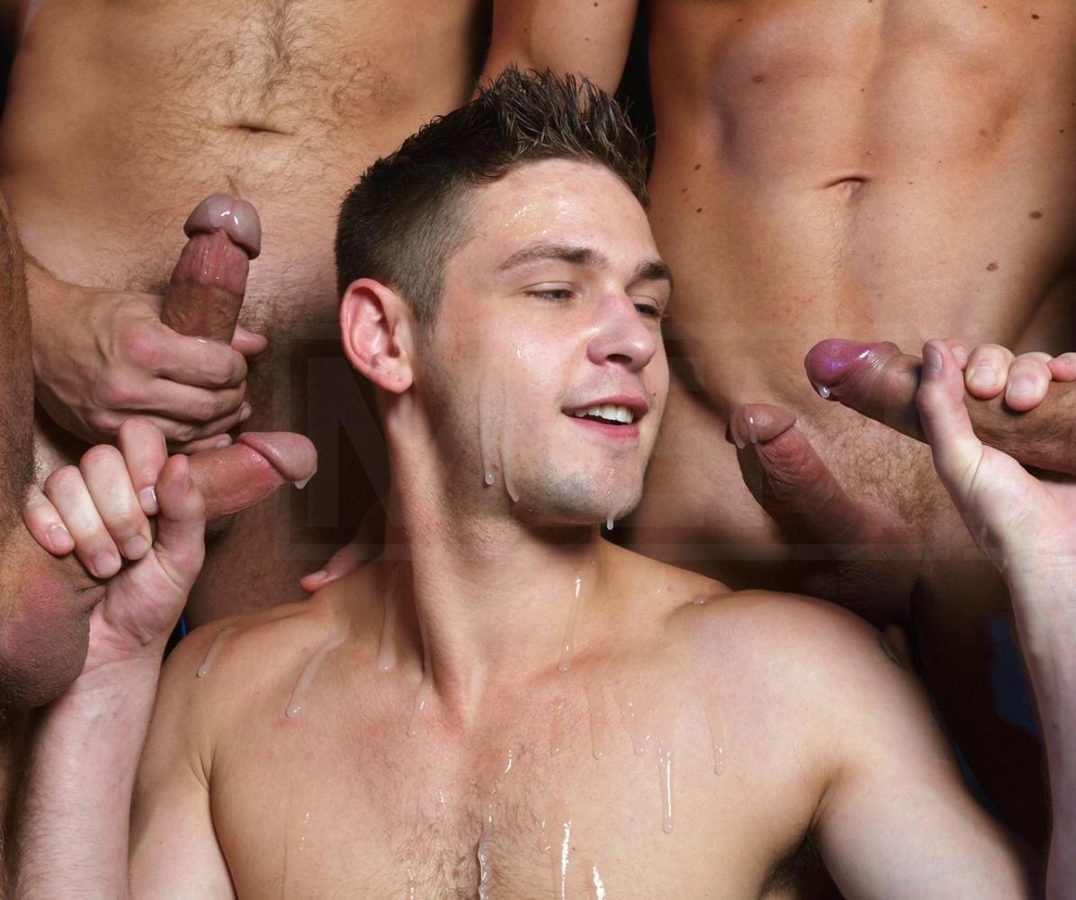 Gay Group Cumshot