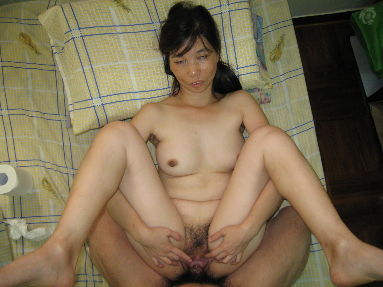 Mature Hairy Asian 2 - PornHugo