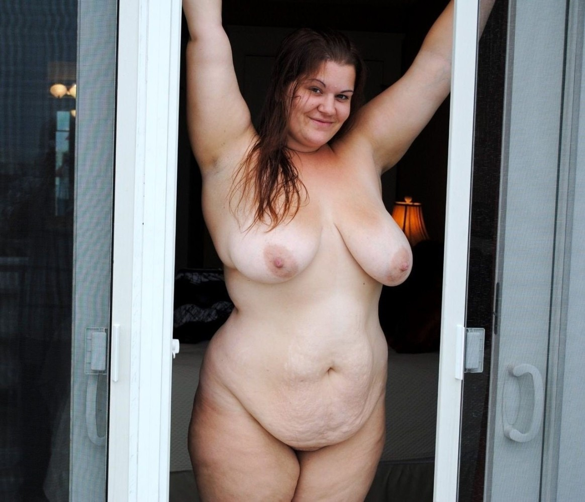 Fat ladies naked mirror shots
