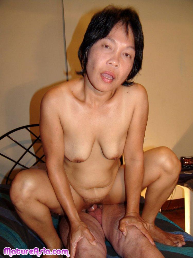 Mature Asian Fucks White Guy