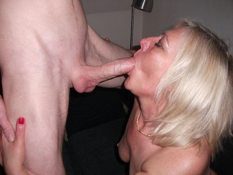 Mom Sucks Son Cock Against His Will