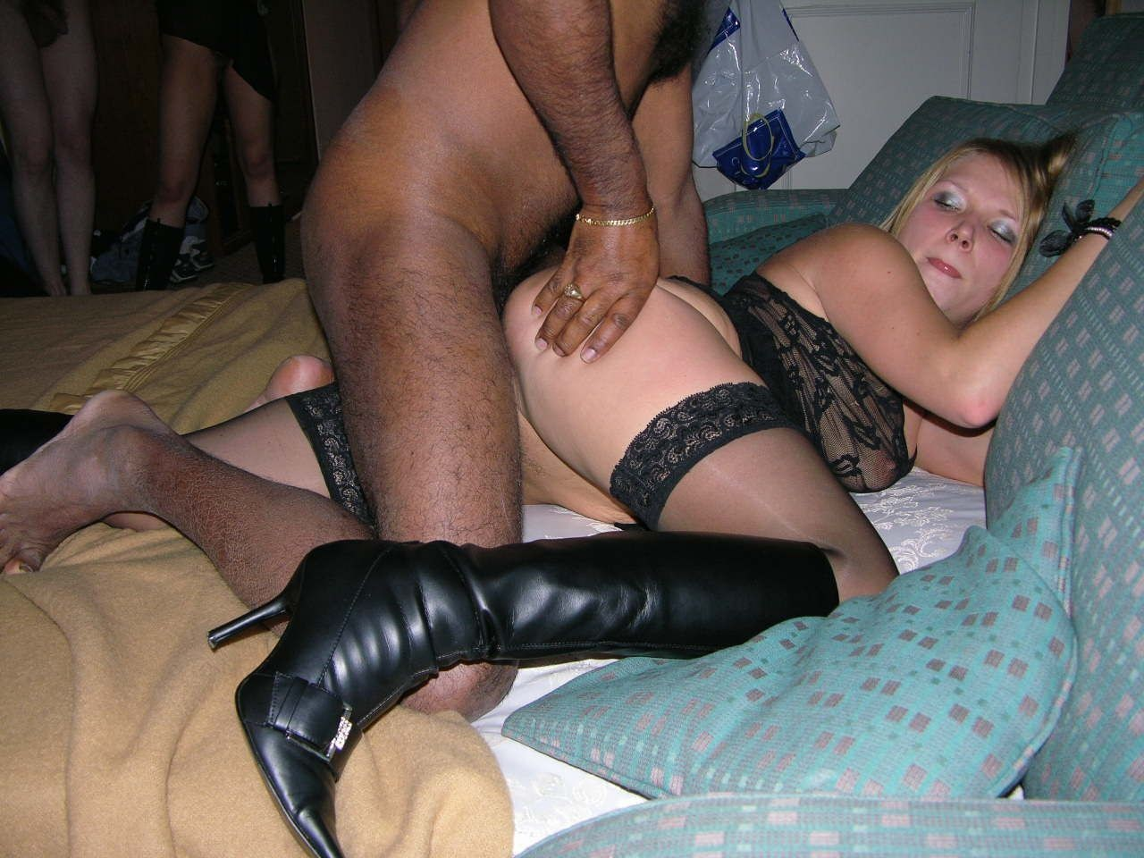 Whore wife jumps on bbc instantly if left alone