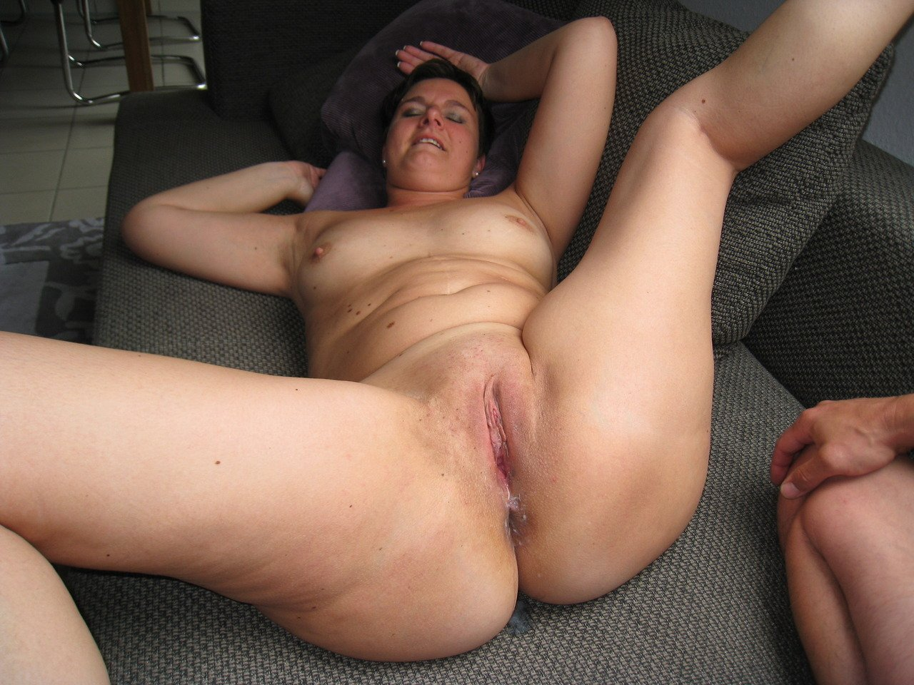 Waxed Pussy Pounding