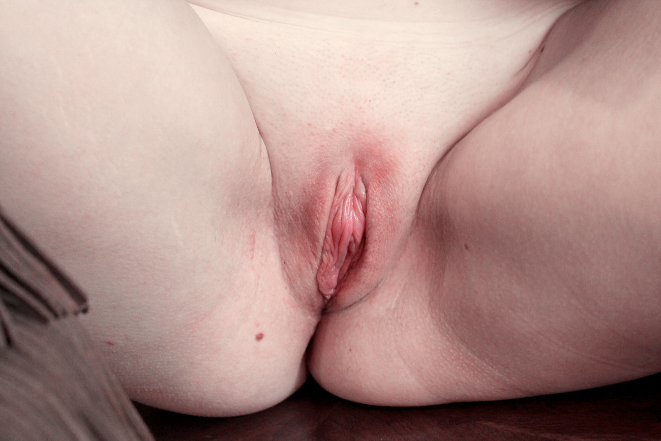 Asian shaved pussy solo