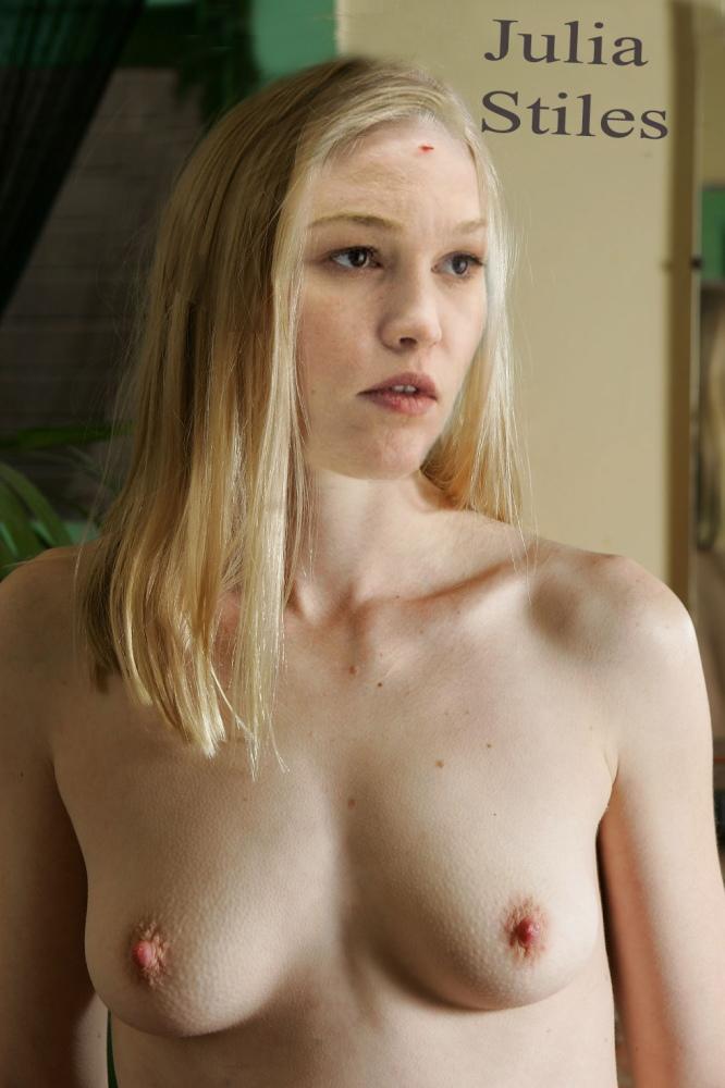 Naked Julia Stiles In Blue Ancensored