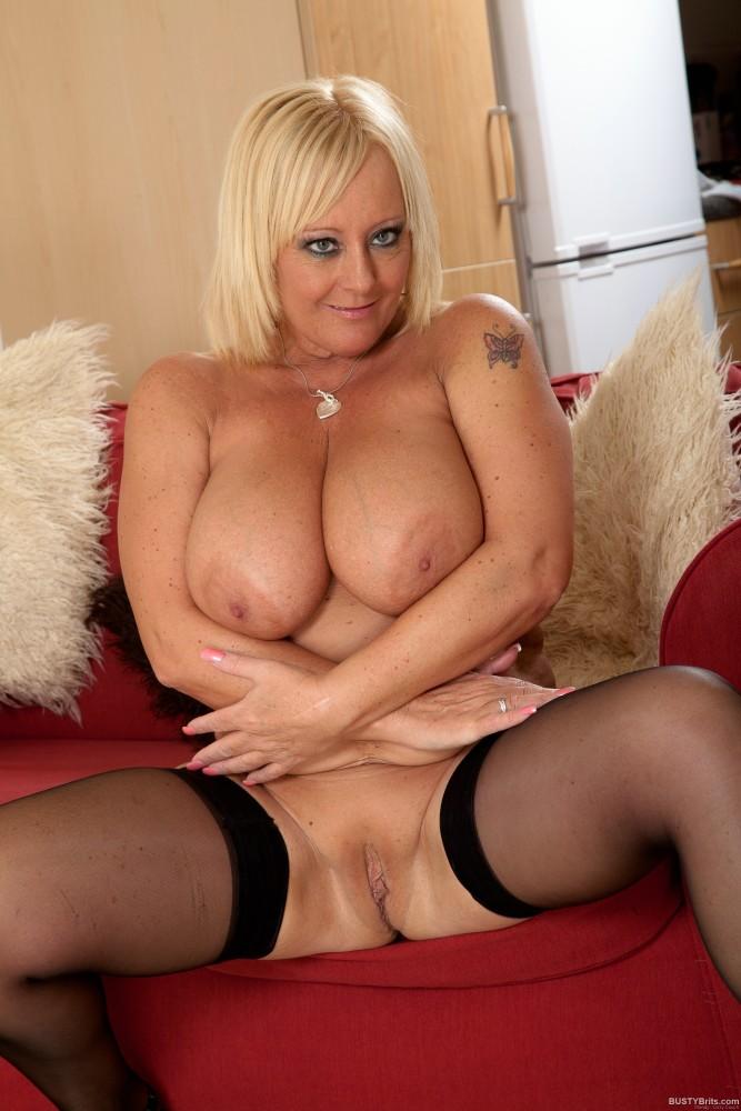 Big tits milf mature