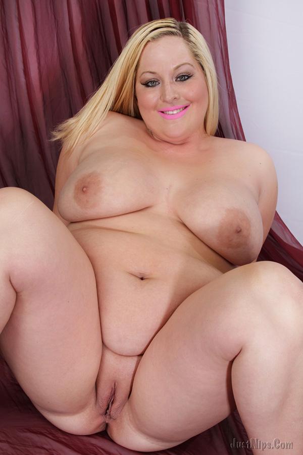 Big fat boob blonde
