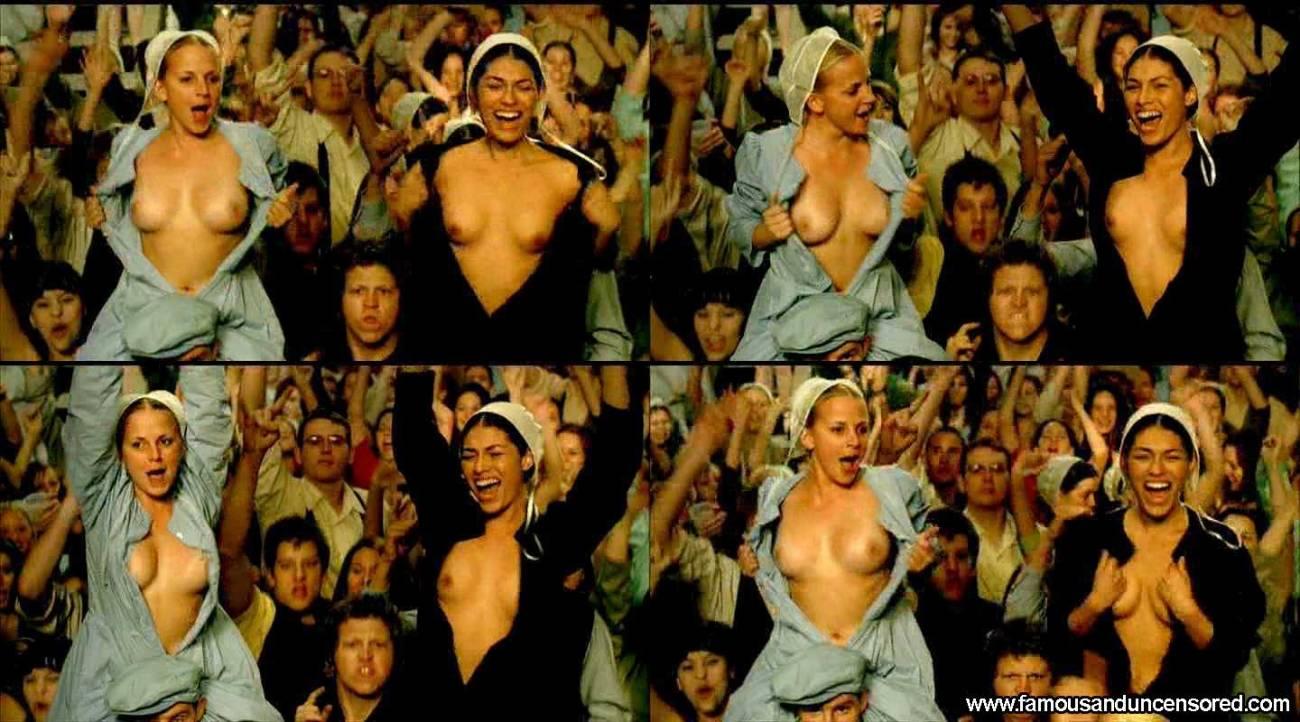 Amanda crew nude topless pierced nipple