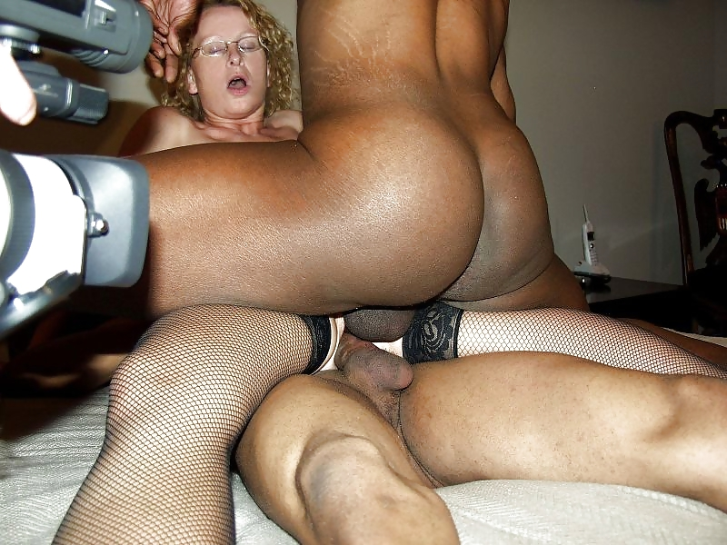 So pretty milf get fuck hard doggy while husband put a dildo in her ass, damn