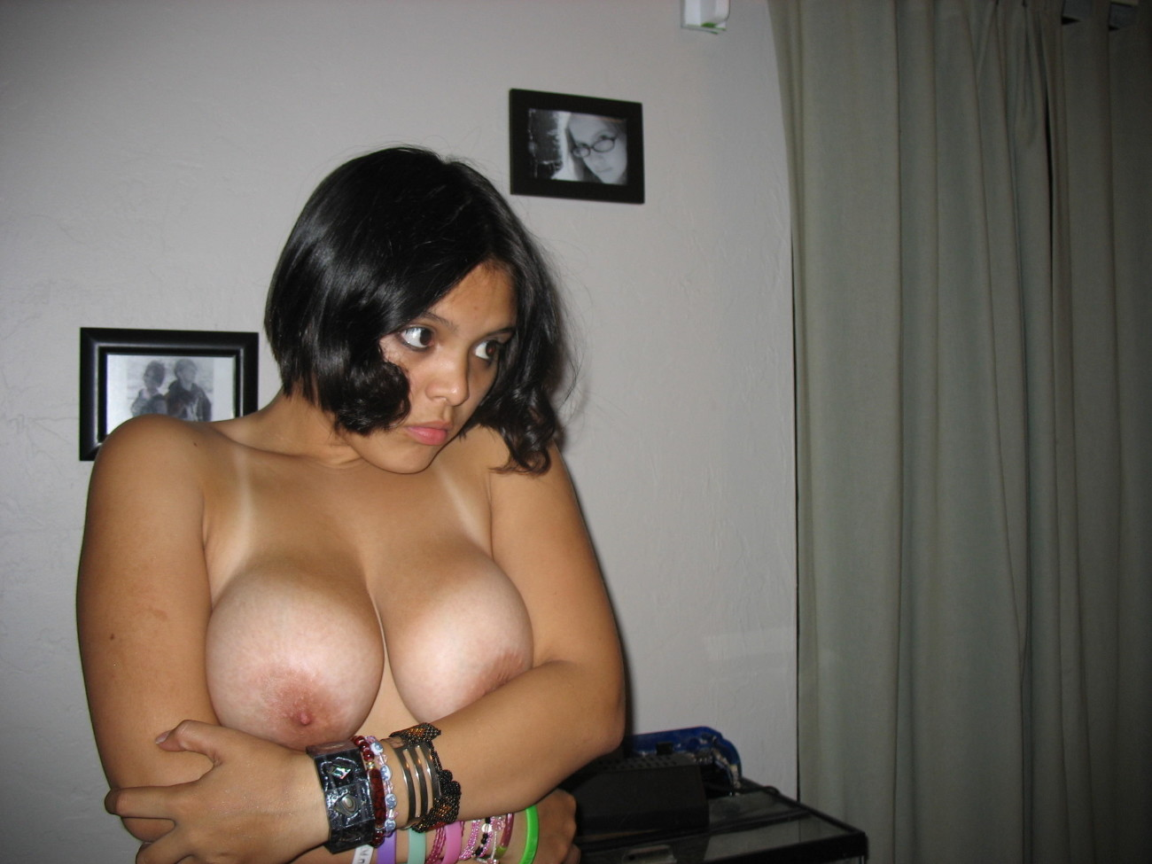 Mature Naked Hispanic