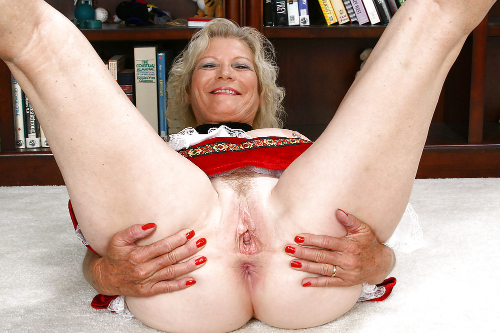 Only Very Hairy Granny Pussy