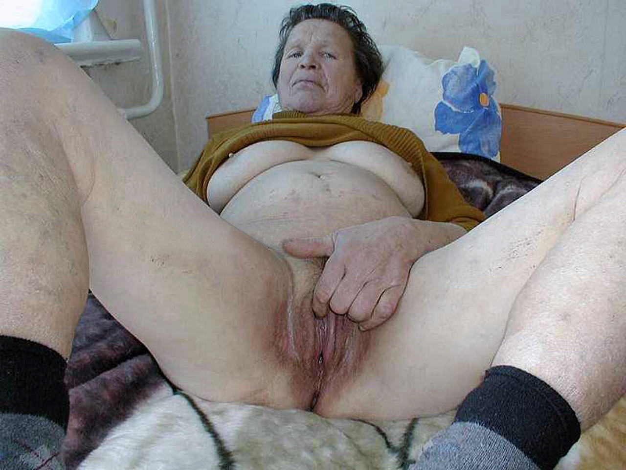 Just Old Pussy Spread